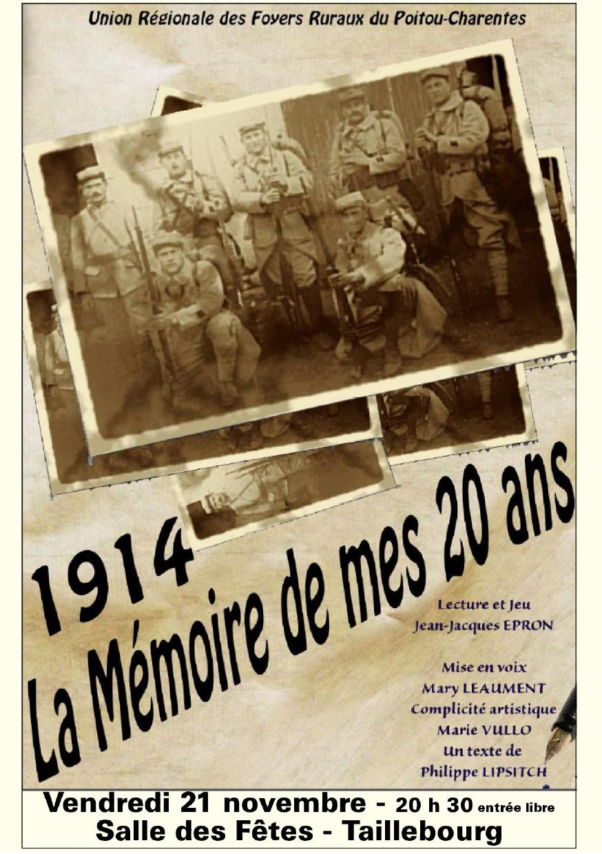 1914, la mémoire de mes 20 ans