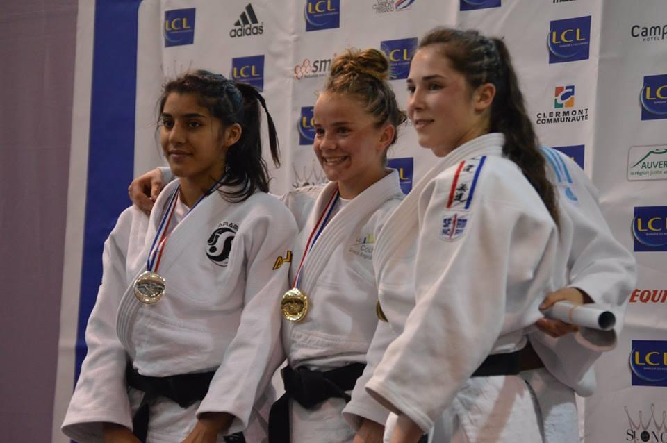 Une Taillebourgeoise Championne de France de Judo