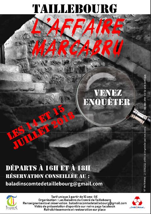 L'affaire Marcabru