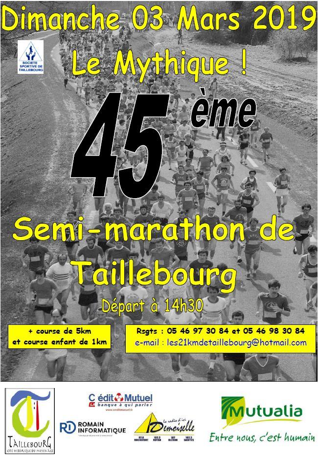 45ème Semi-marathon de Taillebourg