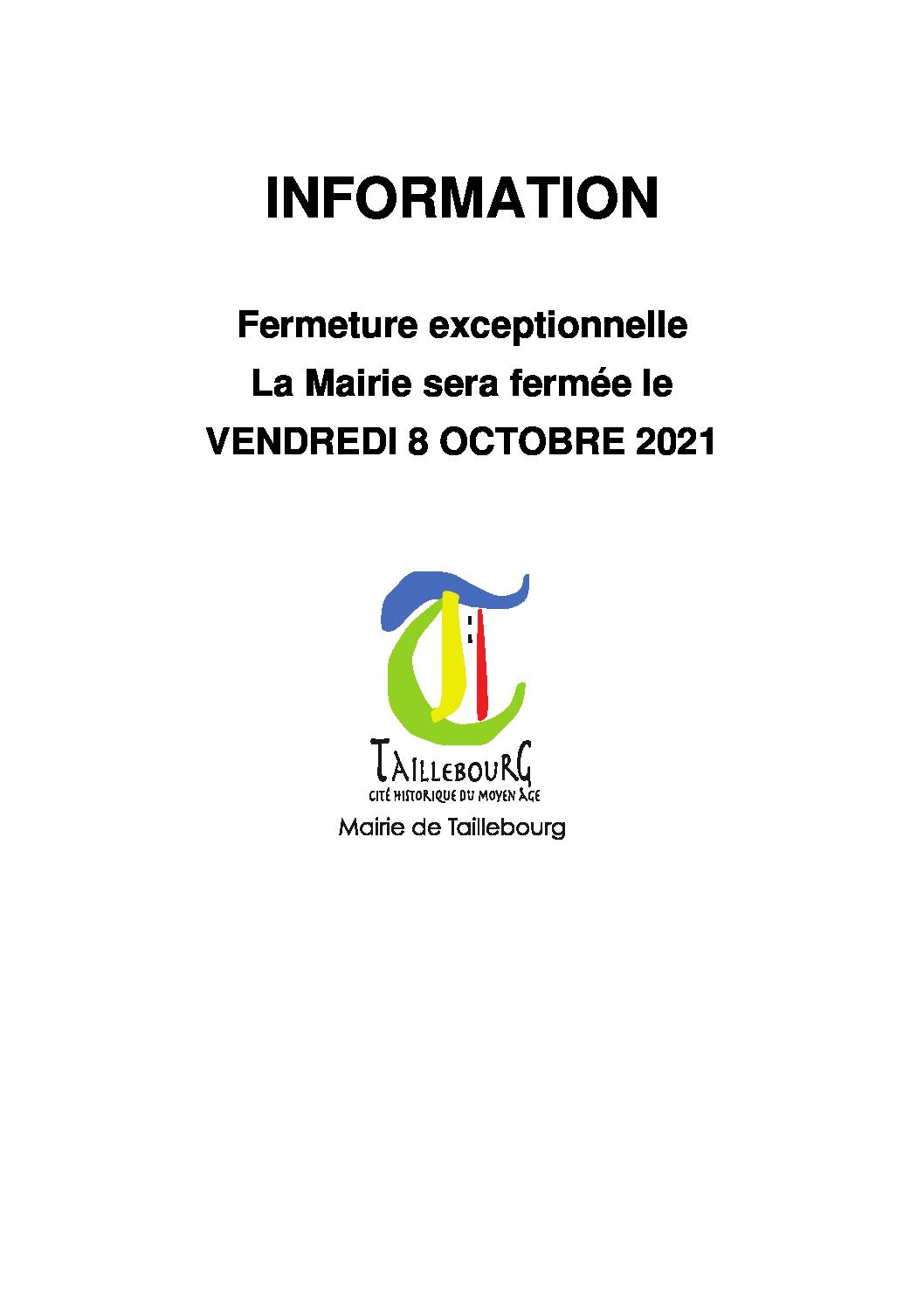 Affiche fermeture mairie VENDREDI 08 OCTOBRE 2021.docx